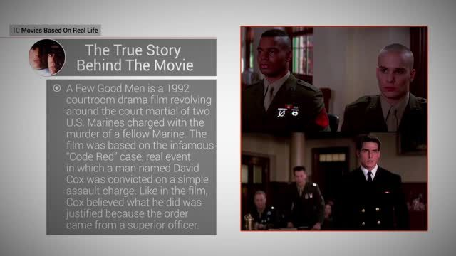 News video: Movies Based On Real Life: 4 A Few Good Men