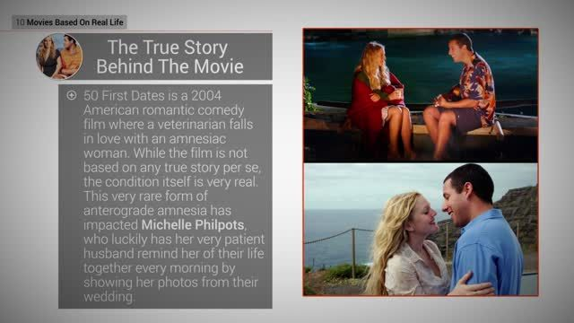 News video: Movies Based On Real Life: 5 50 First Dates
