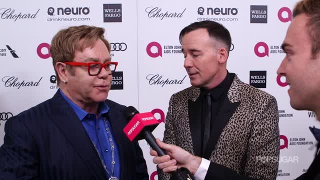 News video: Why the Support of Lady Gaga and Other Young Celebs Means the World to Elton John