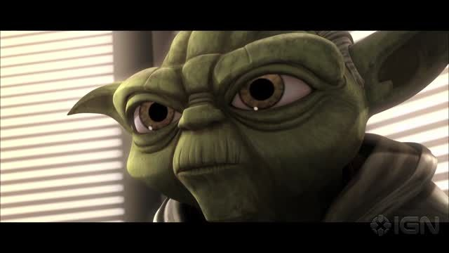 News video: Star Wars: The Clone Wars - Season 6 - Qui-Gon Contacts Yoda