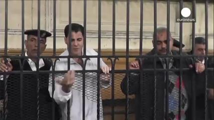News video: Egyptian police pair given 10 years for blogger's murder